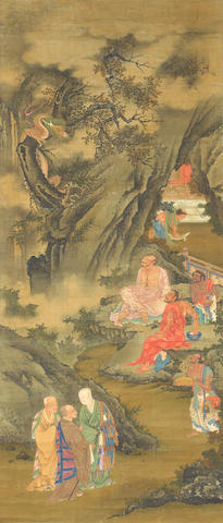 Anonymous (17th Century) Eighteen Luohan