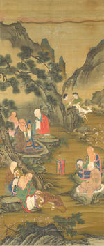 Anonymous (17th Century) Eighteen Luohan
