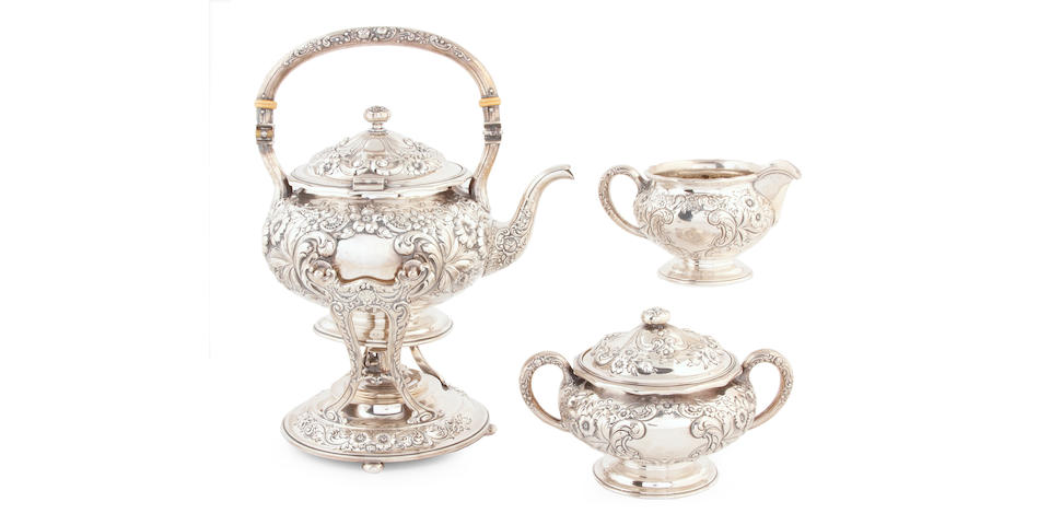 American Sterling Six Piece Tea and Coffee Service