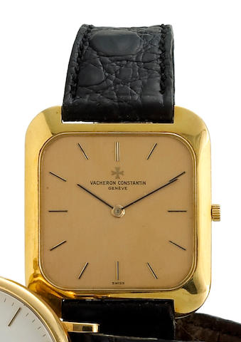 Vacheron Constantin. An eighteen karat gold wristwatch
