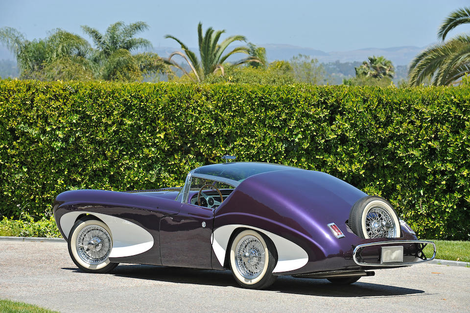 The prototype,1955 Flajole Forerunner  Chassis no. S673772 Engine no. W7884-8S
