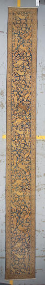 A Tabriz runner Northwest Persia, size approximately 2ft. x 17ft. 6in.