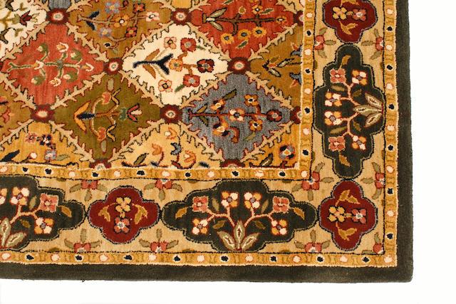 A machine-made carpet