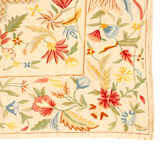 An Indian embroidered tapestry