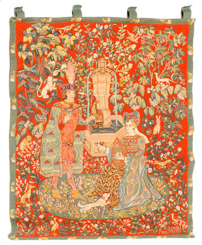 A machine-made tapestry