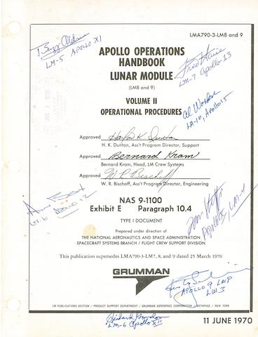 APOLLO OPERATIONS HANDBOOK.