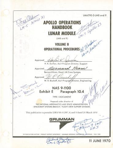 APOLLO OPERATIONS HANDBOOK.