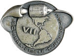 ROBBINS MEDALLION CARRIED ON APOLLO 7.