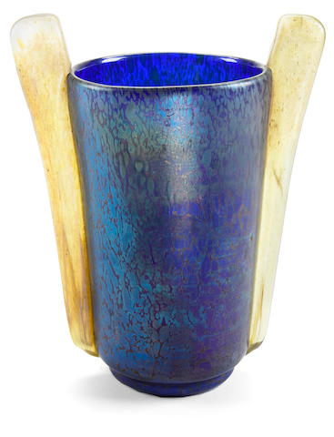 Bonhams A Loetz Iridescent Glass Papillon Vase