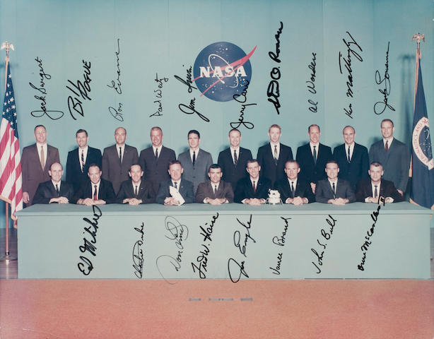 "THE ""ORIGINAL 19"": ASTRONAUTS SELECTED IN 1966 BY NASA."