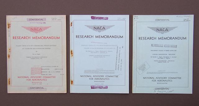 NACA RESEARCH MEMORANDA.