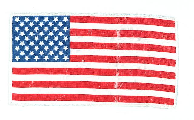APOLLO 15 FLIGHT JACKET US FLAG.