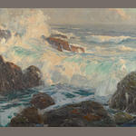 Edgar Payne (1883-1947) Surf at Laguna
