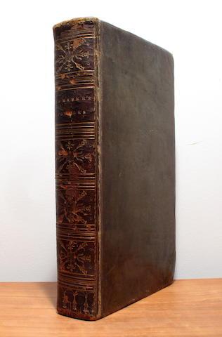 FORSTER, JOHN REINHOLD. 1729-1798.