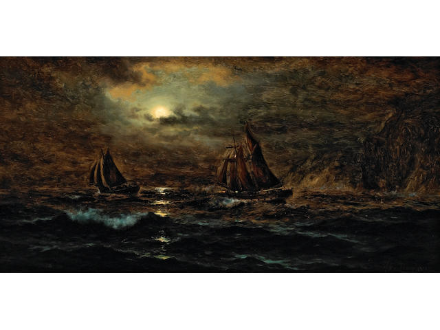 Nels Hagerup, Seascape, o/c
