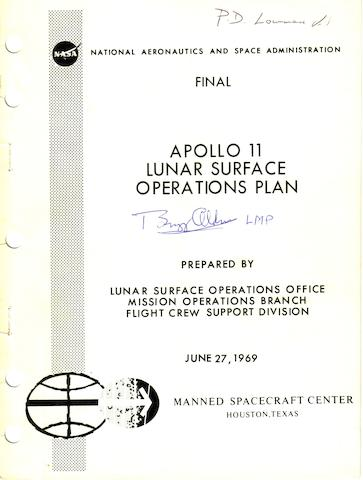 LUNAR SURFACE PLANS & OPERATIONS.