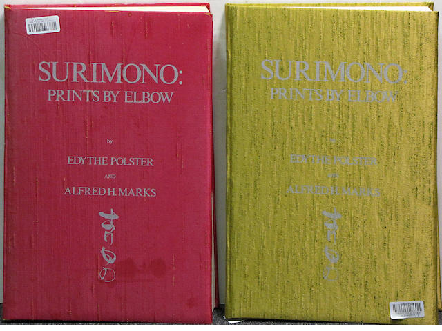 Three books on surimono