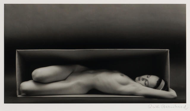 Ruth Bernhard (American, 1905-2006), In the Box-Horizontal, 1962 Gelatin silver print