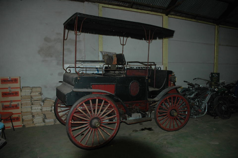 c1899 Worth 'Dog Cart'  Chassis no. 232E6