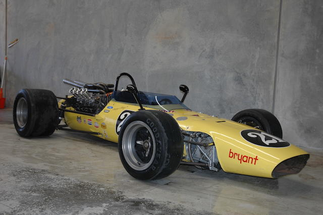 Ex-Jim Clark,1967 Vollstedt-Ford Indianapolis Single-Seat Racer  Engine no. LM1.9.227/060