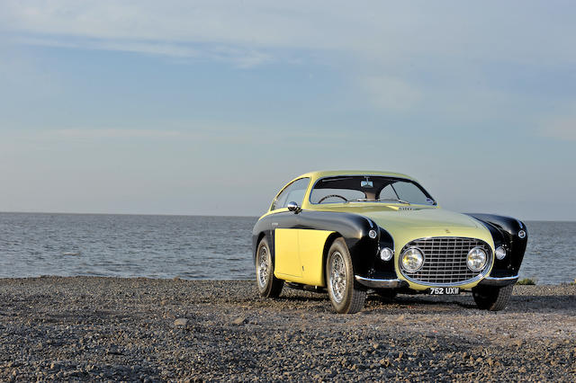 "1952 Ferrari 212 Inter Vignale Coupe ""Bumblebee""  Chassis no. 0197EL Engine no. 0197EL"