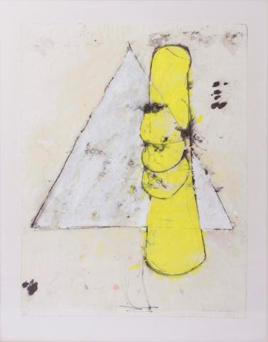 Richard Gorman (Irish, born 1946) Hat I, 1985 25 1/2 x 19 1/2in