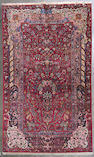 A Kashan rug size approximately 4ft. 5in. x 7ft. 4in.