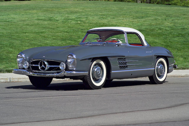1961 Mercedes-Benz 300SL Roadster  Chassis no. 10003067