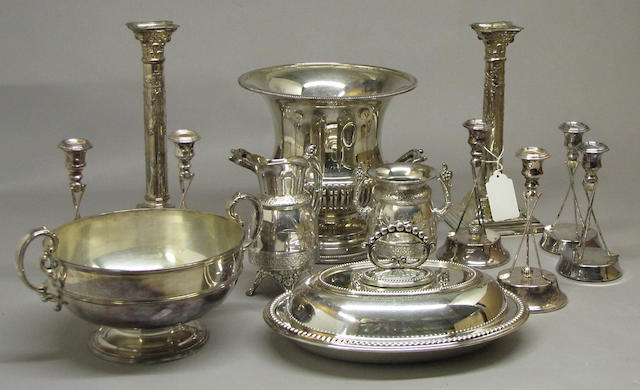 Quantity of Silver Plated Table Articles