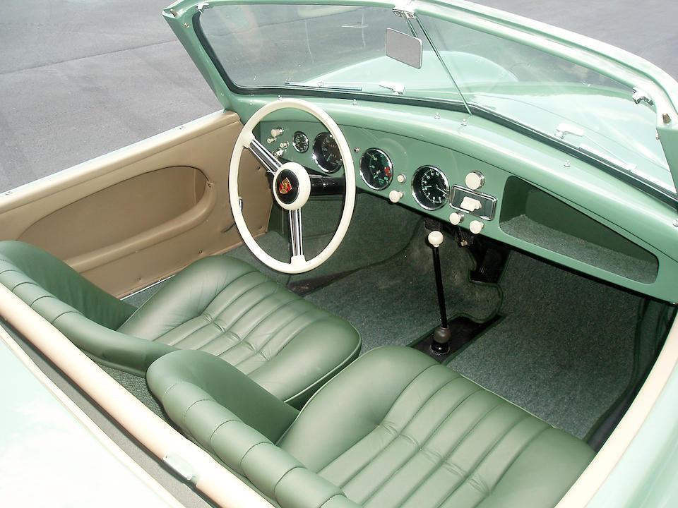 The Unique Steel Sport Roadster, Ex-Brundage Motors Inc. (Brumos Porsche) 1954 12-hours of Sebring,1953 Porsche Roadster Typ 540 K/9-1  Chassis no. 12371 Engine no. P40511