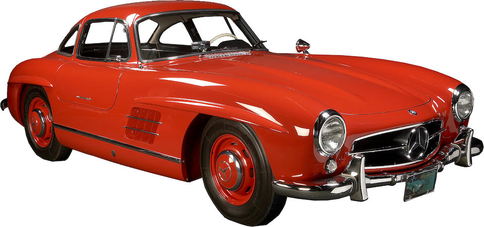 1956 Mercedes-Benz 300SL Gullwing Coupe  Chassis no. 198040-10-5500589 Engine no. 198980550605
