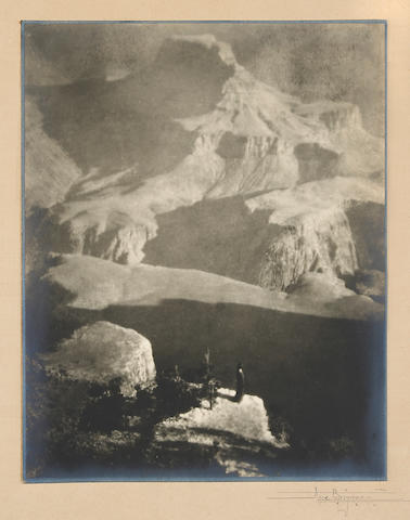 Anne W. Brigman (American, 1869-1950); Sanctuary, The Grand Canyon;