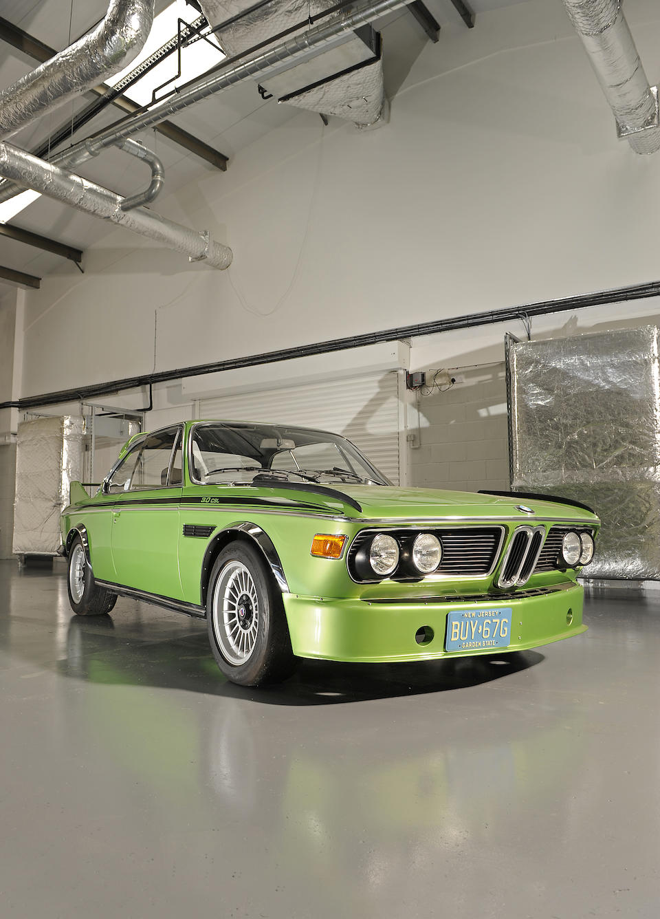 The 49th of only 57 examples built,1975 BMW 3.0 CSL 'Batmobile'  Chassis no. 4355049 Engine no. 4355049