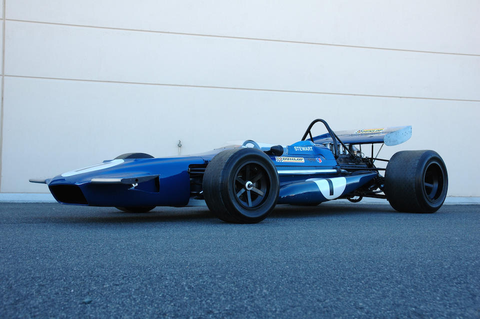 The Ex-Jackie Stewart, Spanish Grand Prix-winning, three-time pole position,1970 March-Cosworth Formula 1 Racing Single-Seater  Chassis no. 701-2 Engine no. DFV98/370