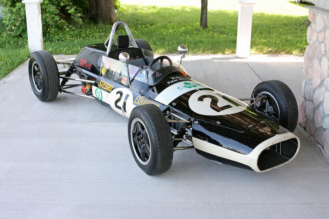 1963 Watkins Glen U.S. Grand Prix Finisher, ex-Peter Broeker,1963 Stebro Mk. IV Single Seater Grand Prix Car  Engine no. TBC