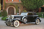 The ex-William Boyd 'Hopalong Cassidy',1933 Duesenberg Model J Torpedo Victoria  Engine no. J384
