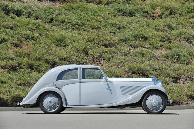 1935 Bentley 3½-Liter Aerodynamic Saloon  Chassis no. B103CW Engine no. B5BB