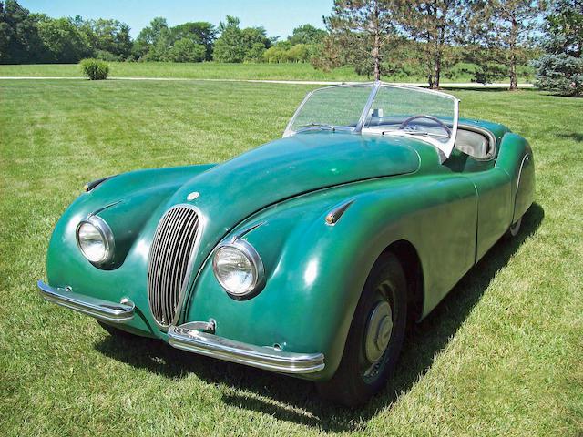 Bonhams : 1950 Jaguar XK120 Alloy Roadster Chassis no. 670054