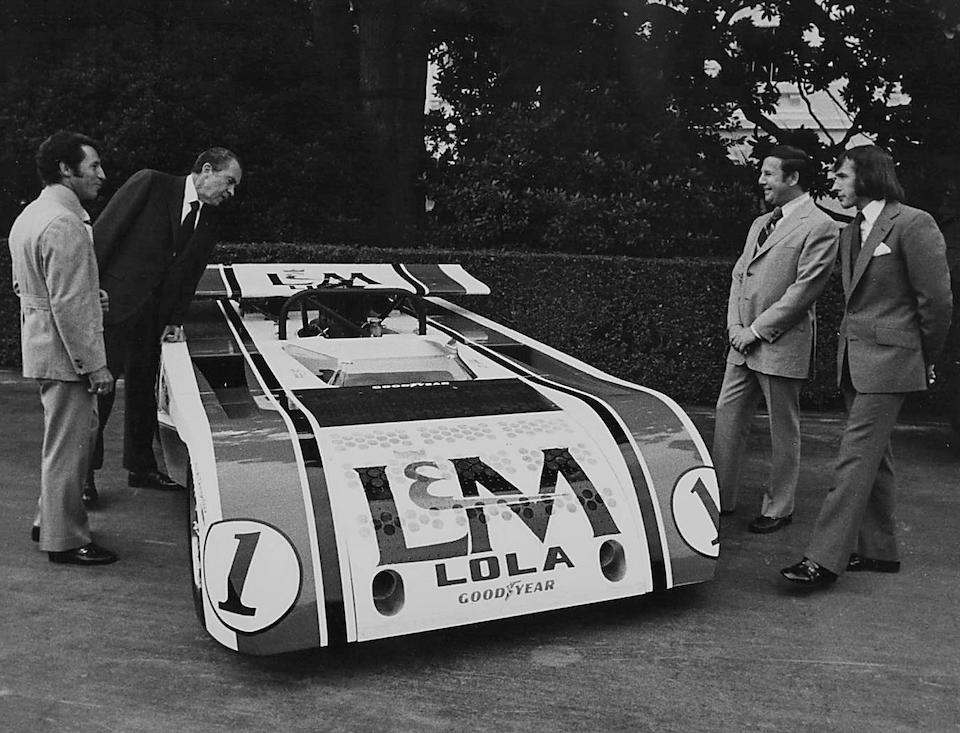 The ex-L&M Carl Haas/Jackie Stewart team,1971 Lola-Chevrolet T260 CanAm Racing Spider  Chassis no. T260-HU2
