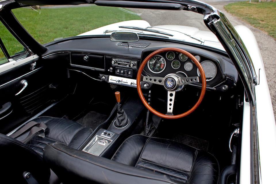1970 Maserati Mistral Spyder  Chassis no. AM109SA1737 Engine no. AM109SA1737