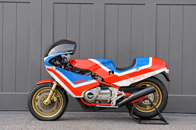 Formerly the property of Malcolm Forbes Sr,1985 Bimota SB4 Frame no. SB4 00159 Engine no. GS110X-148606