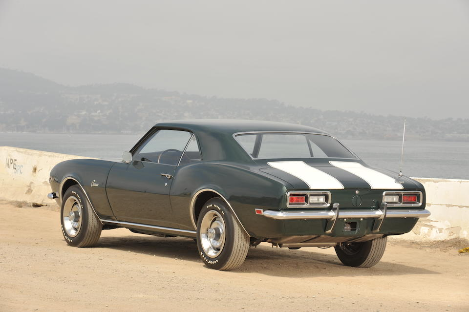 1968 Chevrolet Camaro Z/28  Chassis no. 124378N471260