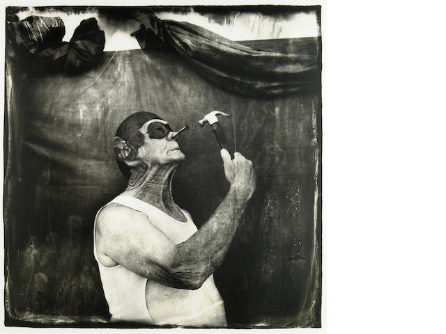 Joel-Peter Witkin (American, born 1939); Joel Peter Witkin, AP 1/3, Purchased from the artist Melvin Burkhart: Human Oddity, Florida;