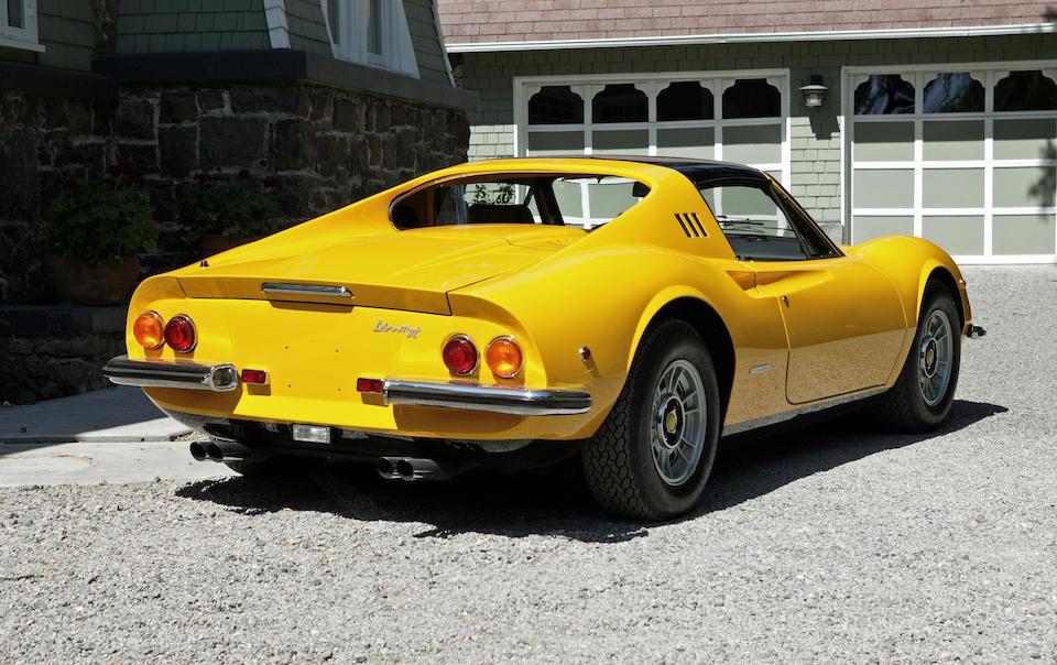 c1971 Dino 246GTS  Chassis no. 04770
