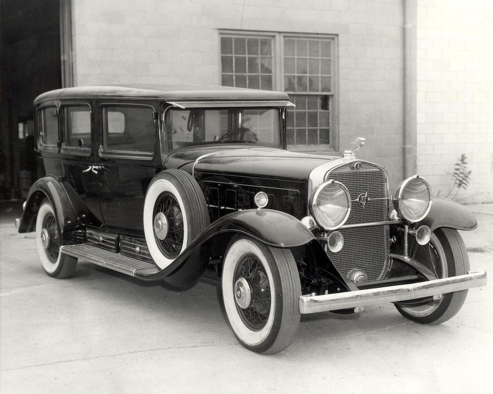 "Formerly the property of Al Capone and ""The Outfit""—the Chicago Mob,1930 Cadillac Series 452 V-16 Armored Imperial Sedan  Chassis no. 701617 Engine no. 701617"