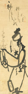 Various Artists (18th-20th Century): A collection of fourteen Zen paintings