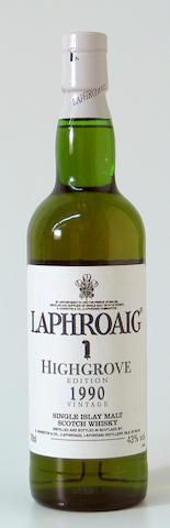 Laphroaig Highgrove-1990