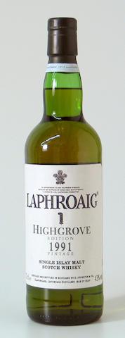 Laphroaig Highgrove-1991
