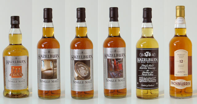 Hazleburn-8 year old  Hazleburn-8 year old (3)   Hazleburn 175  Inchmurrin-12 year old