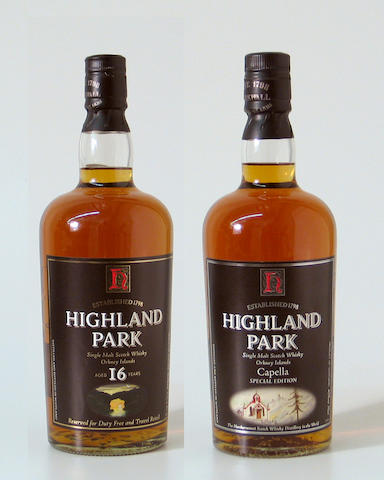 Highland Park Capella  Highland Park-16 year old